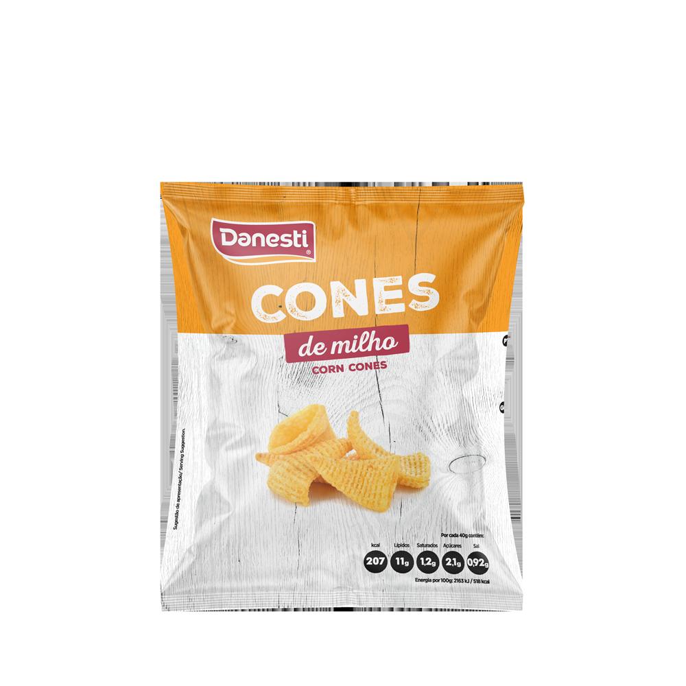 Cones de Milho 40g